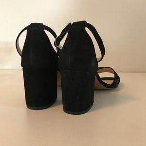 Steven By Steve Madden Shoes - Steve Madden Ilka Black Nubuck Sandals
